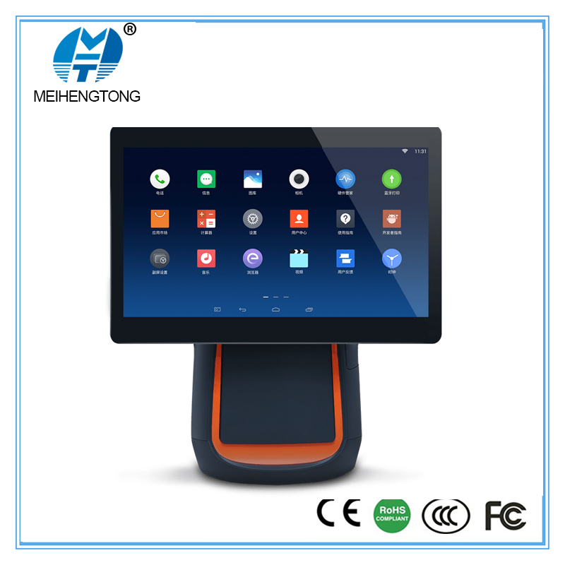 "MHT-T1 14"" IPS android wifi bluetooth pos system for retail"