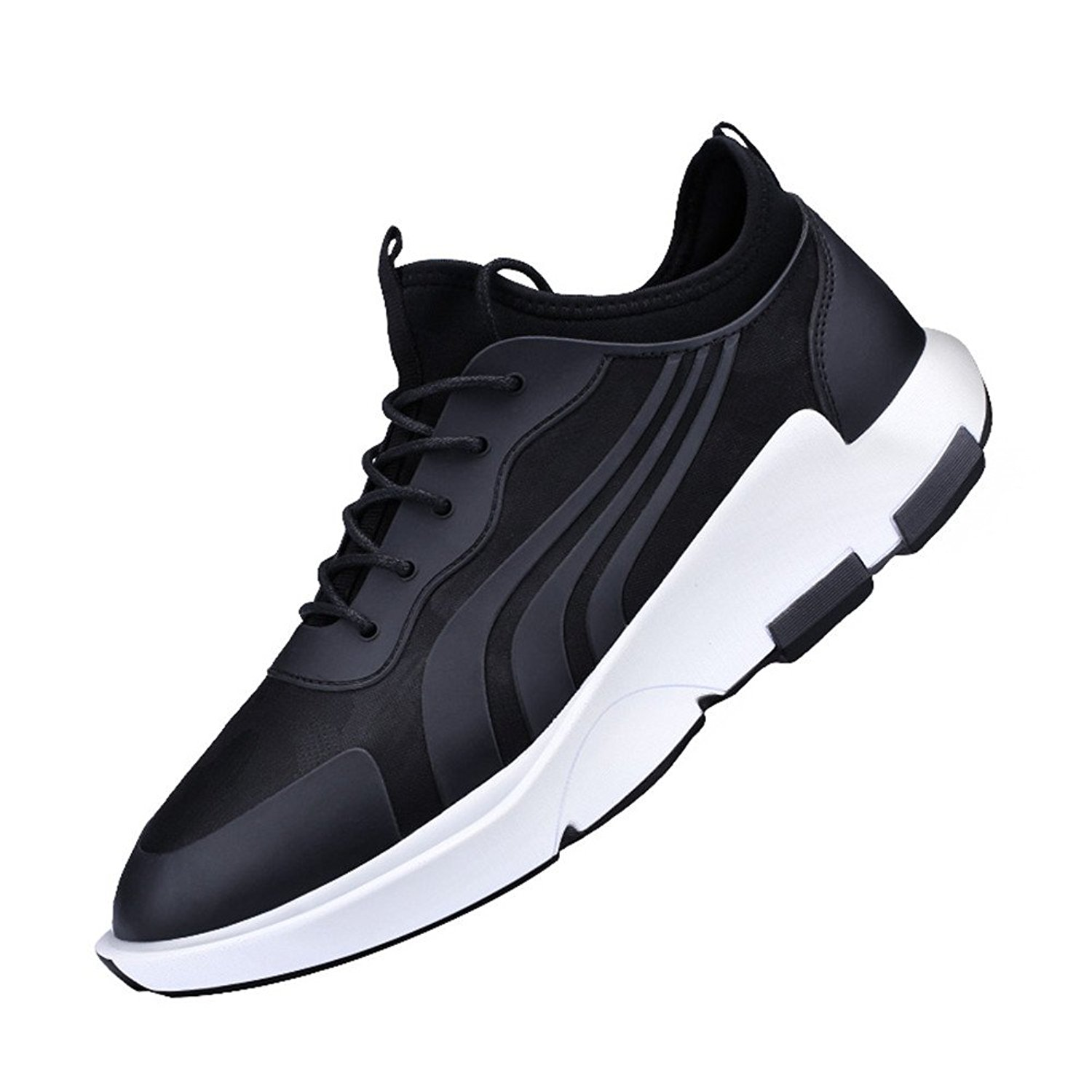 HAPPYSTORE Men Mesh Shoes Leisure Athletic Flat Running Non-Slip Light Sneakers