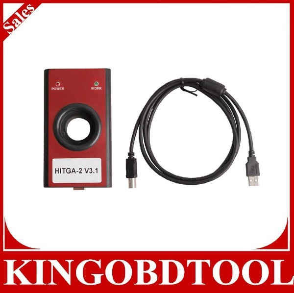 red color Good quality High Performance HiTag2 V3.1 Programmer- HiTag-2 universal keys programmer Auto transponder key maker