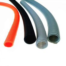 Electrical Wire Flexible Corrugated Cable Protection conduit Plastic Tube