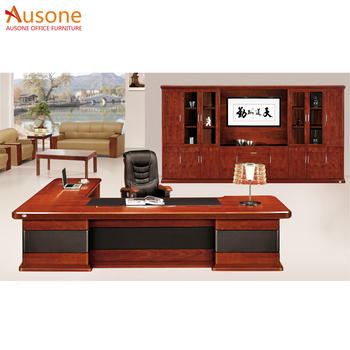 High End Solid Wood Writing Desk