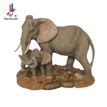 Hand Carved Elephants,Hand Carved Elephants Indian,Elephant Caved Resin Statue