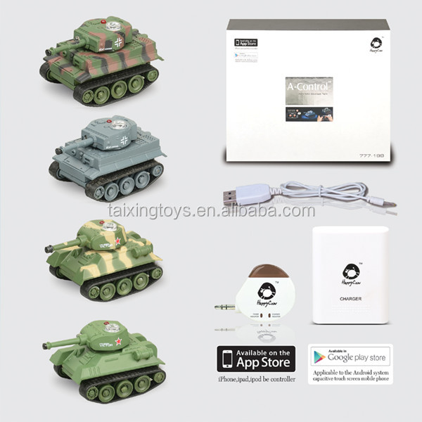 Iphone/Android Radio Control Kumite Tank Autos Kinder Batterie USB Spielzeug