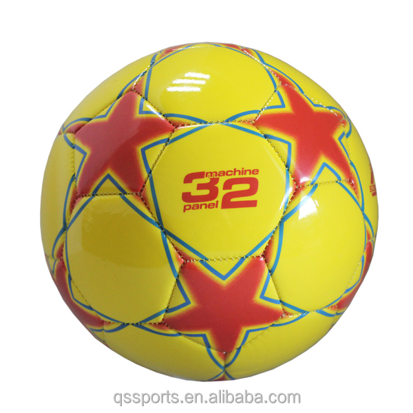 High quality Size 4 PU soccer ball for 2017 style in zhejiang