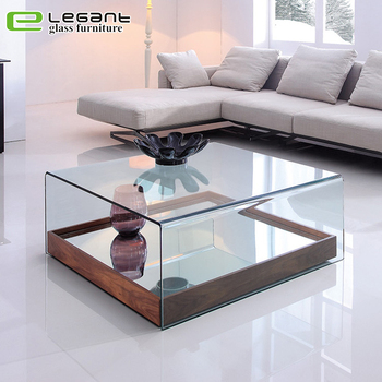 35+ Ideas For Square Wooden Center Table With Glass Top