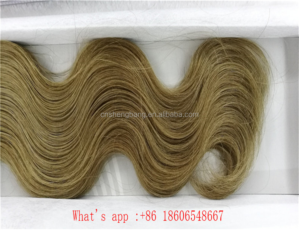 "Promotion! 100%human hair weft Body wave 18"" and 22"" coffee F6/27,8a body wavevirgin malaysian hair"