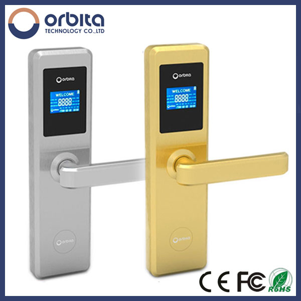 Orbita Wireless RFID smart hotel door lock factory with bluetooth function