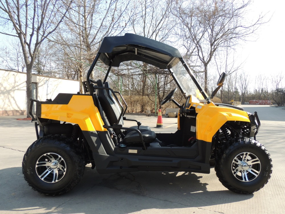 cheap 4 wheeler for adults side by side mini utv
