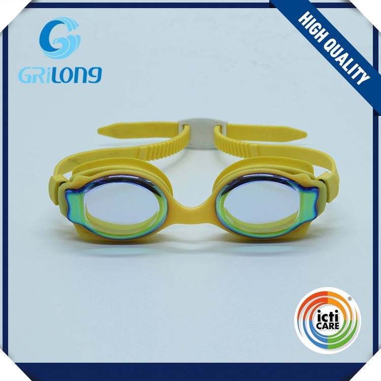 HOT sale good quality innovative oem design funny kids swimming goggles