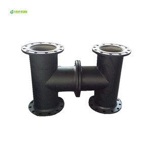 ISO2531/En545/En598 Pipe Fittings Ductile Iron All Flange Tee for Ductile Iron Pipe