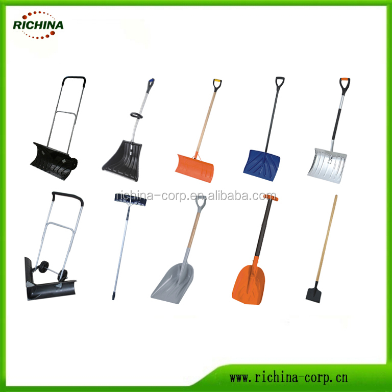 Snow Shovel, Wide range operation, High quality, Plastic blade, steel tube handle, hot sale