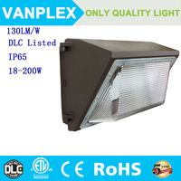 DLC ETL approval 100W wall pack high lumen led wall pack with outdoor