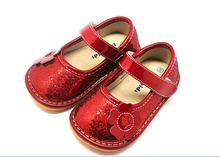 Guangzhou wholesale squeaky lovely shoes for first-step baby kids