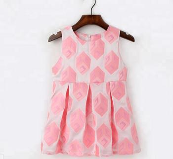 45e3b52b6 Children's wear autumn girl lovely sleeveless vest thick printed children's dress  European and American cotton skirt