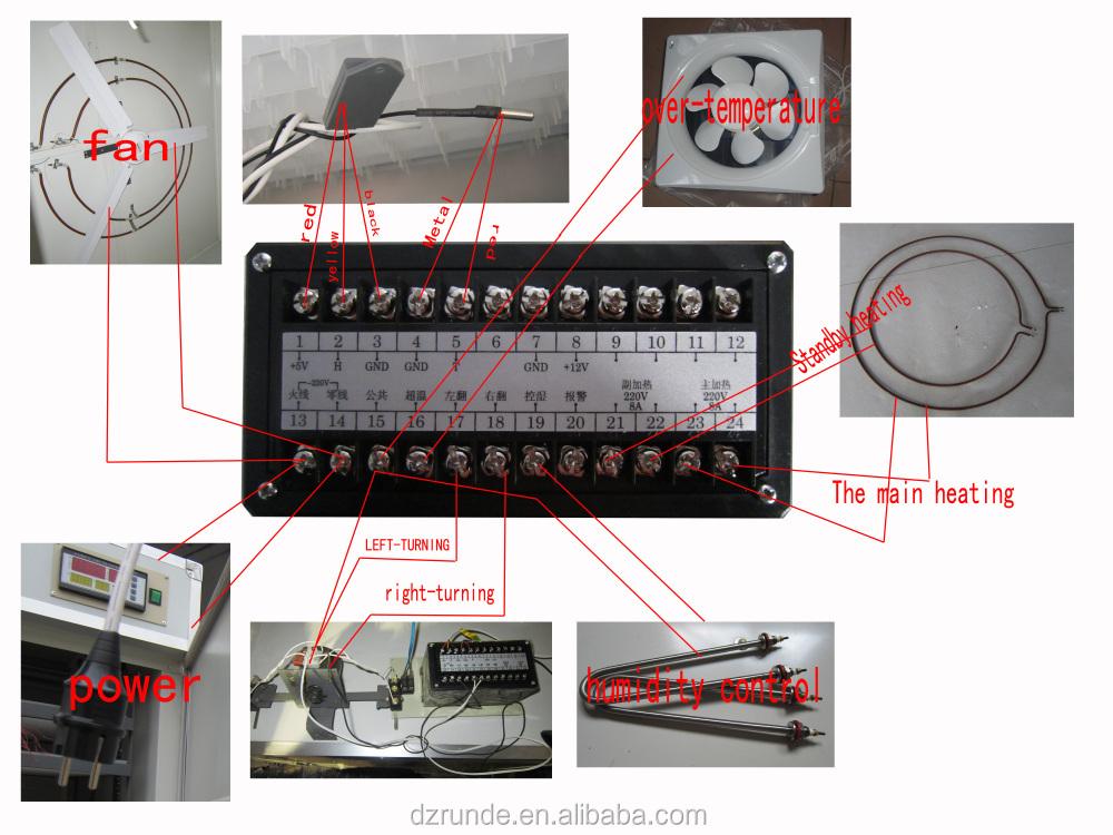 Incubator Spare Parts Digital Automatic Temperature And