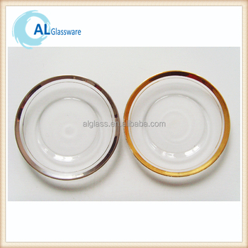 silver gold rimmed glass charger plate dinner plates  sc 1 st  Alibaba & Silver Gold Rimmed Glass Charger Plate Dinner Plates - Buy Silver ...
