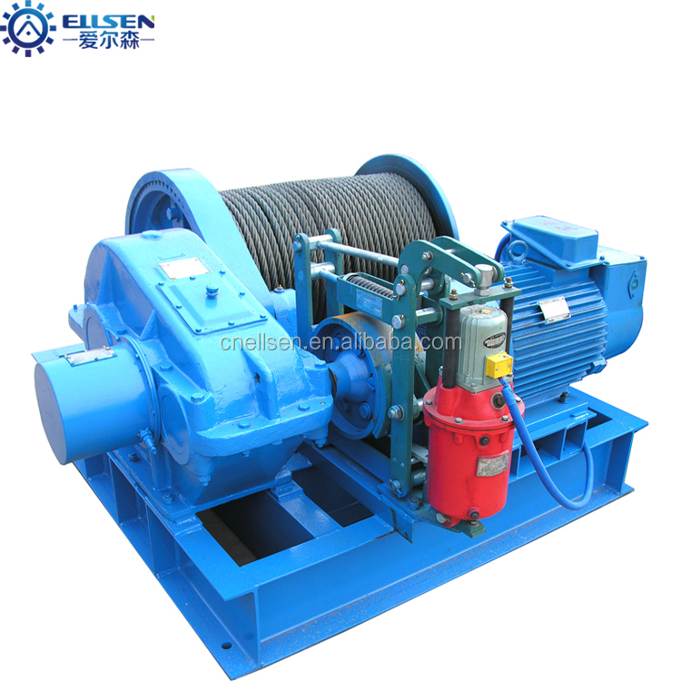 Manual control fast speed 3 ton electric winch
