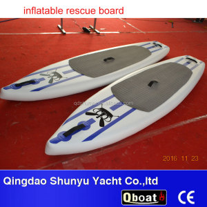 CE wholesale inflatable standup paddle board rescue sup board