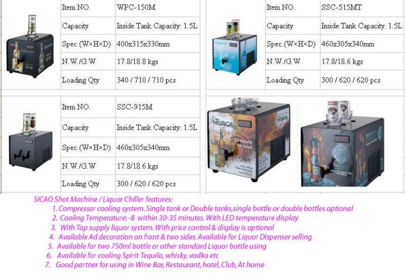 Liquor Tap Machine For Rum,Hot Tapping Machine Semiconductor Wine Dispenser  Cold Shot Machine - Buy Liquor Tap Machine,Hot Tapping Machine,Wine