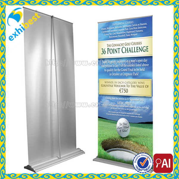 Hot sale Retractable Outdoor Water Base Advertising Roll Up Banner Display