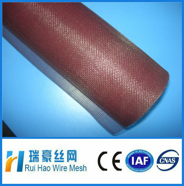 fiberglass window screen /magnet mosquito screen for window