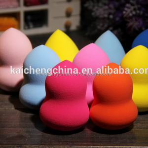 2018 high quality Product Of gourd Shape Flawless Smooth Pro Beauty Powder Puff Tool ,Made In China