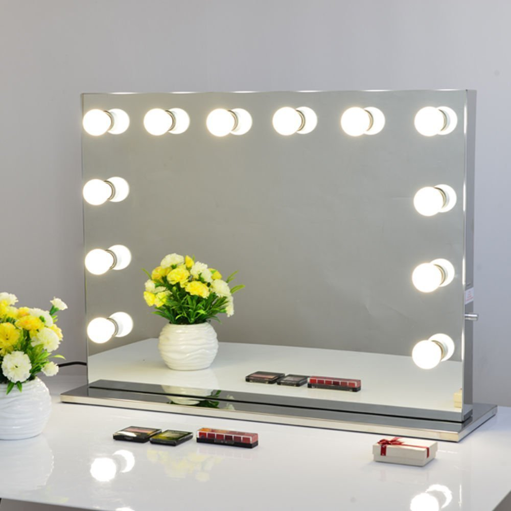 Buy Chende Frameless Hollywood Lighted Makeup Vanity Mirror Light