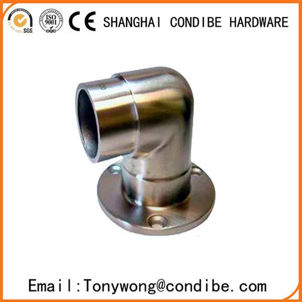 Condibe stainless steel pipe handrail wall end cap bracket