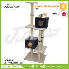 wholesale,luxury ,six tiered ,pet product of celing cat tree for large cars