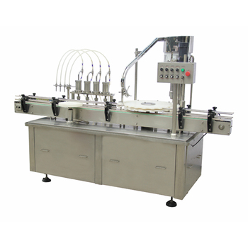 filling and capping machine for liquid and paste
