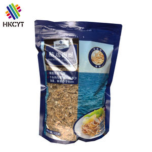 Food Grade Heat Seal Zipper Plastic Vacuum Food Packaging Bag for Rice,Beans