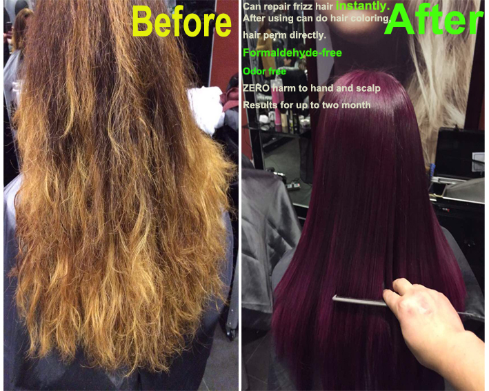 Brazilian Keratin Hair Straightener Keratin Shampoo And