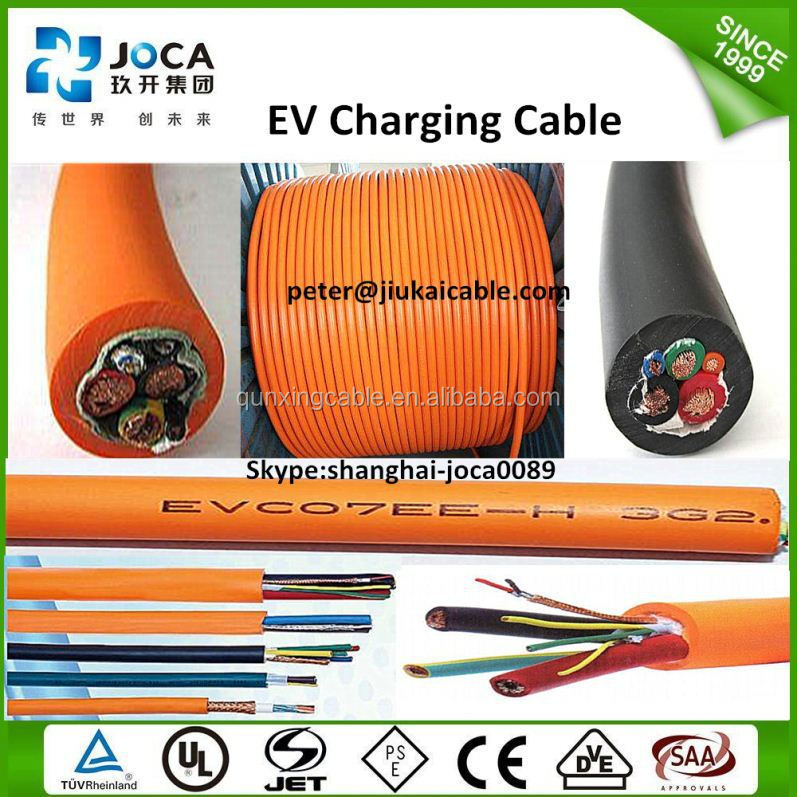 High quality charger cable ev charge cable type 2 to type 1