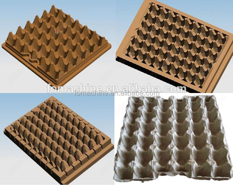 2015 automatic high quality paper egg tray making machine for How to make paper egg trays