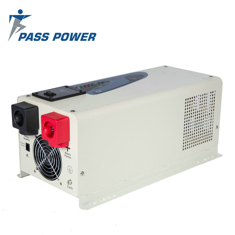 Low frequency  power star w7 pure sine wave  hybrid off grid inverter solar water pump inverter 3000w  with battery charger