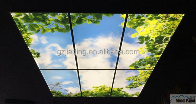 led kreative gro e decke himmel licht panel dekoration. Black Bedroom Furniture Sets. Home Design Ideas