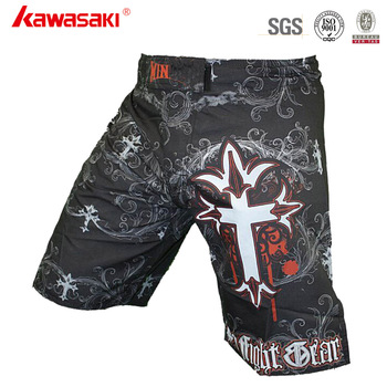 Wholesale Custom Printed Sublimated Board Crossfit MMA Fight Shorts
