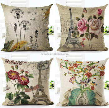 Diy Oil Painting 3d Digital Printed Cushion Covers And Pillow Cases - Buy  3d Oil Painting On Canvas,Photo Print Cushion Covers,Pillow Case Chair  Cover