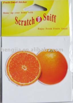 Orange Smell Stickers