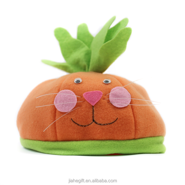 Buy cheap china easter gifts for children products find china wholesale kids favor handmade cute cartoon carrot hat easter gift for child negle Images