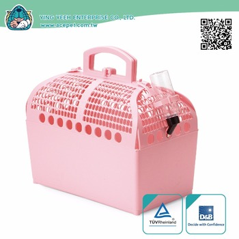 high qual Soft plastic new premium Pet Transport Box Small Animals Travel carrier cage
