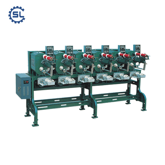 Automatic Measuring 6 Spindles Cone Sewing Thread Winding Machine