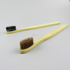 Eco-friendly bamboo bristle toothbrush bamboo handle
