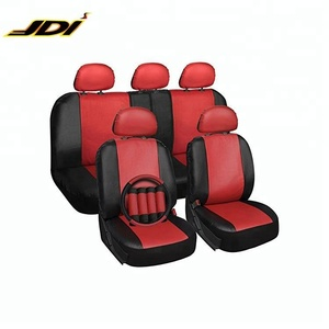 JDI Fashion Customized Logo Leather Car Seat Headrest Cover
