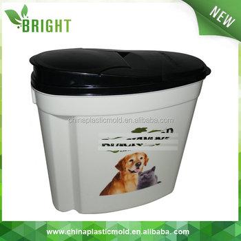 10l 6kg cat dog food storage bin dry pet food container