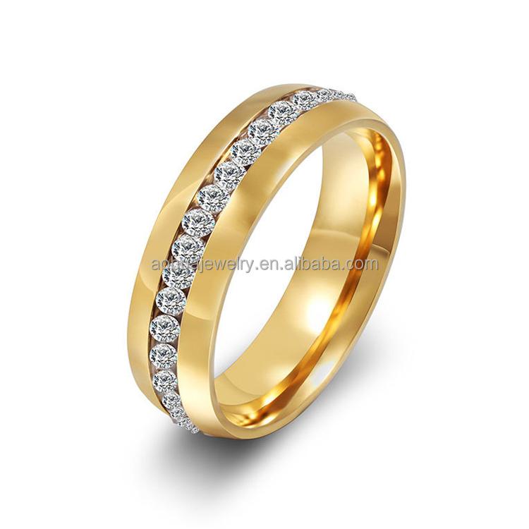 Fashion Jewelry Saudi Arabia Gold Wedding Ring Price Saudi Arabia