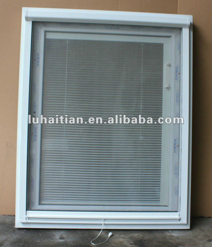 Hang Blinds Outside Window Frame: Pvc Casement Window With Internal Blinds And Mosquito