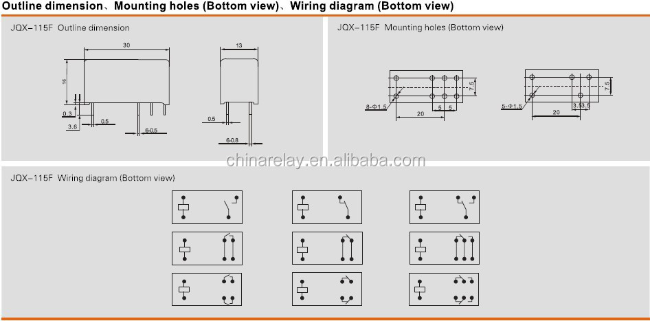 12v relay wiring diagram 6 pin somurich 12v relay wiring diagram 6 pin asiaon 115f pcb mini 12v dpdt relay view 12v asfbconference2016 Image collections