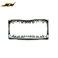JDI-LF502 Stainless steel USA custom car metal license plate frame