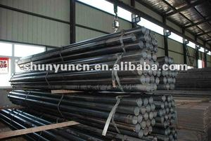 Structural bar hot rolled mild steel solid round bar(Q235 Q345 ASTM A36 SS400 S275JR S355......manufacture,customize)